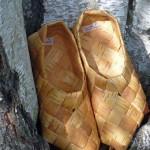 Brezová kôra - obuv