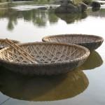 Vŕba - loďka (coracle)
