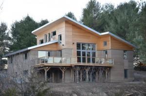 Dom z ubíjanej hliny