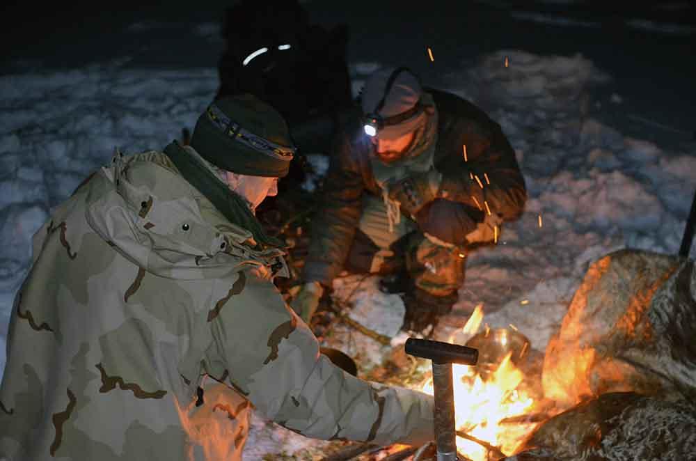 Sneznice, varenie v snehu (3)