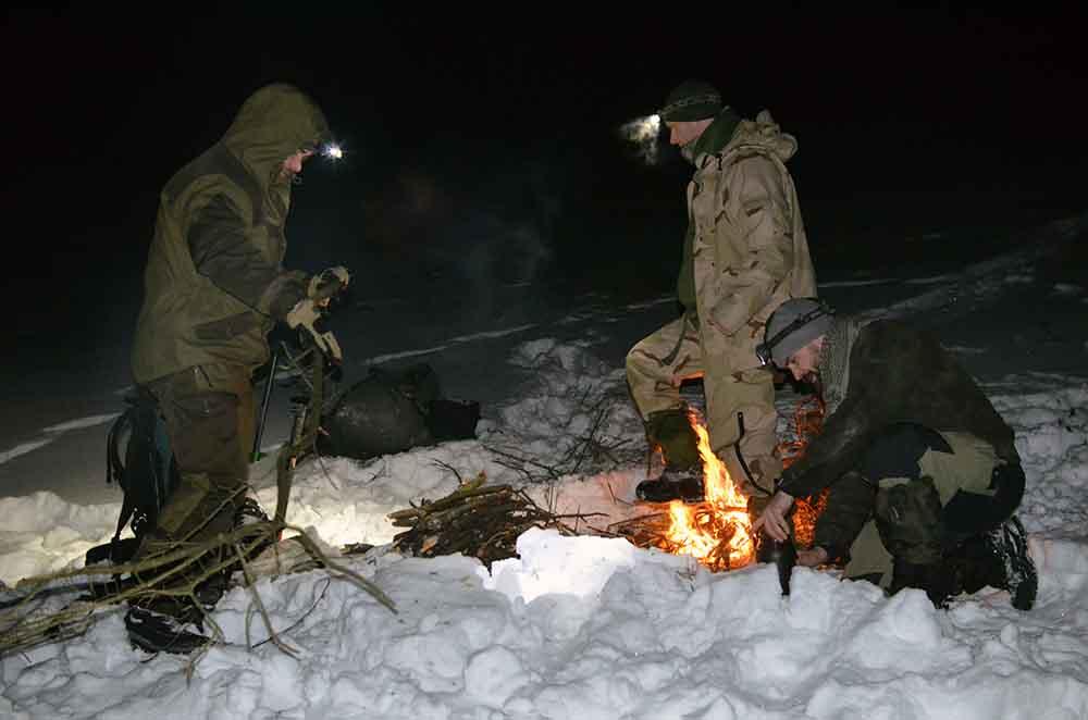 Sneznice, varenie v snehu (4)